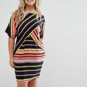 ASOS Curve Bold Print Shift Dress